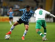 Dudu, autor do gol. Foto do Lucas Uebel, via Flickr do Grêmio Oficial