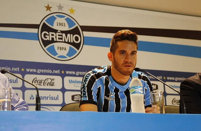 Marcelo Oliveira - Foto Rodrigo Fatturi/Grêmio Oficial (via Flickr).