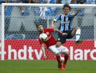 Geromel foi decisivo. Depois da expulsão, acabou o Grêmio. Foto: Lucas Uebel/Grêmio Oficial (via Flickr)