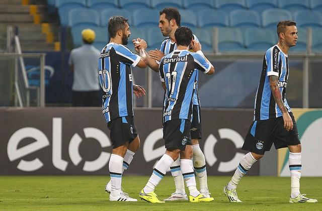 Douglas, o cara. Foto do Lucas Uebel/Grêmio Oficial