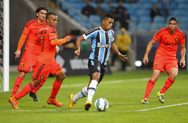 Pedro Rocha foi muito importante. Foto: Lucas Uebel/Grêmio Oficial (via Flickr)