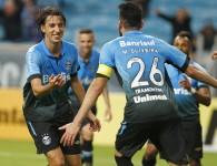 Vem comigo! Gol do Geromel, foto do Lucas Uebel (Grêmio Oficial via Flickr)