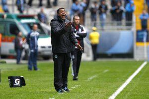 Roger já tem 41 vitórias e 62% de aproveitamento. Foto: Lucas Uebel/Grêmio Oficial (via Flickr)