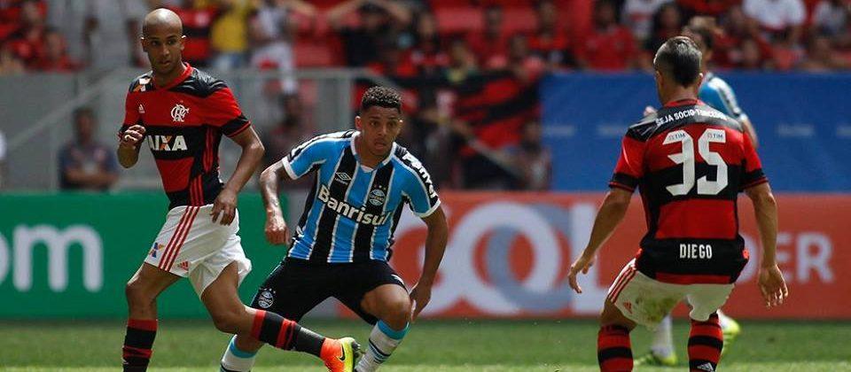 Walace Oliveira foi o de sempre. Foto: Grêmio Oficial/Via Facebook