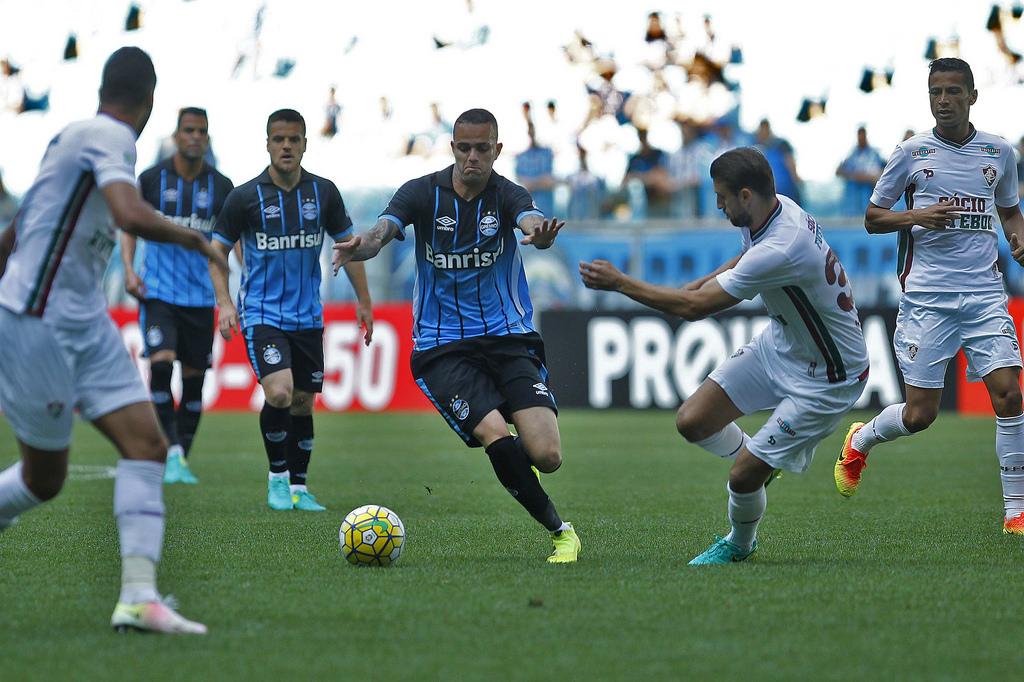 Não teve mágica. Foto: Lucas Uebel/Grêmio Oficial (via Flickr)