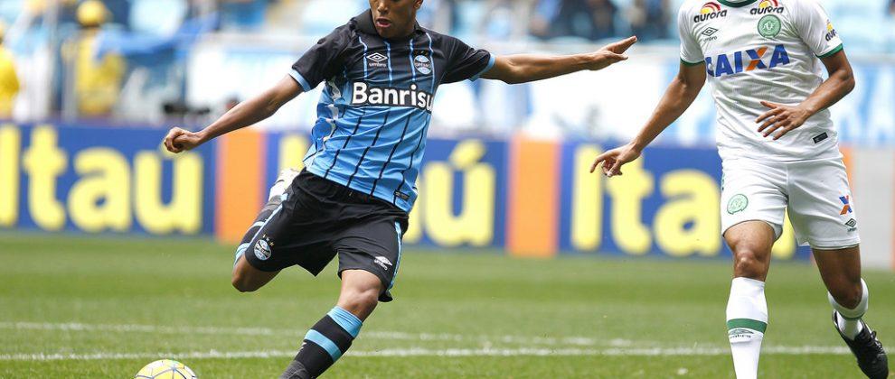 Pedro Rocha, autor do gol. Foto: Lucas Uebel/Grêmio Oficial (via Flickr)