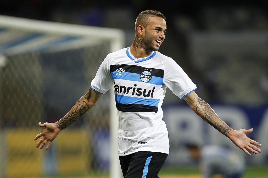 Luanel luanelizou. Foto: Lucas Uebel/Grêmio Oficial (via Flickr).