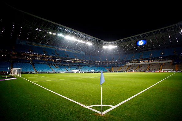 PORTO ALEGRE, BRAZIL - JUNE 03: General view of Arena do Gremio before the match Gremio v Corinthians as part of Brasileirao Series A 2015, at Arena do Gremio on June 03, 2015 in Porto Alegre, Brazil. (Photo by Lucas Uebel/Getty Images)
