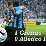 [Saideira] Copa do Brasil – Grêmio 4×0 Atlético PR