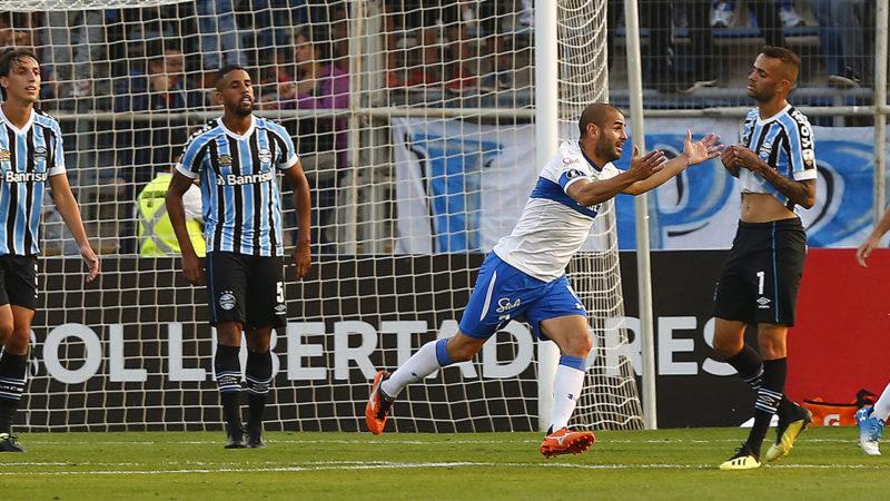 U.Católica marcando o gol da vitória